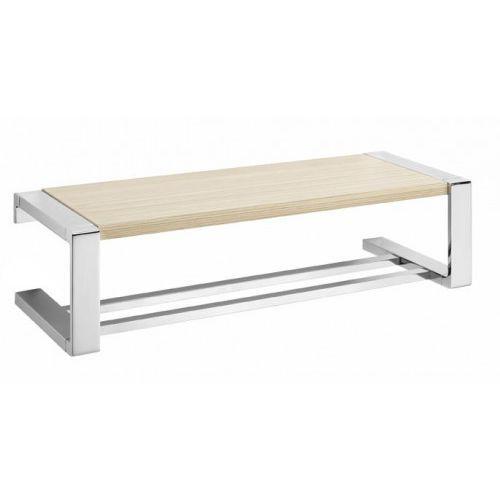 ontario wieszak na ręcznik z półką drewnianą art. wood 3018.21 marki Tiger
