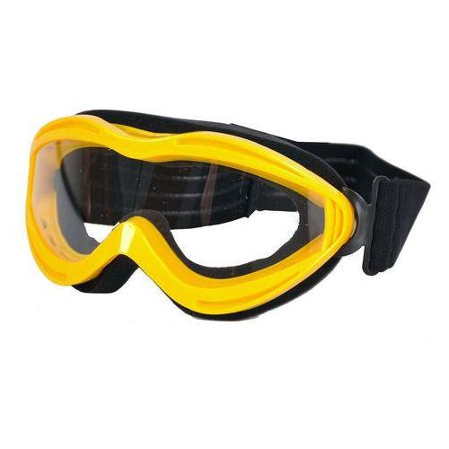 Okulary motocyklowe WORKER VG6920 Junior, Żółty (8595153617349)