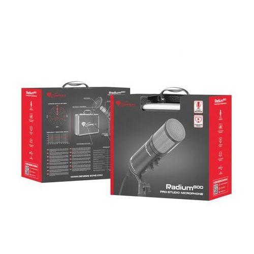 mikrofon genesis radium 600 studyjny usb marki Natec