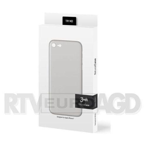3mk Natural Case iPhone 7 (biały), kolor biały