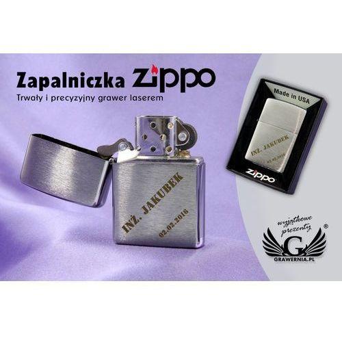 Zapalniczka z200 brushed chrome marki Zippo