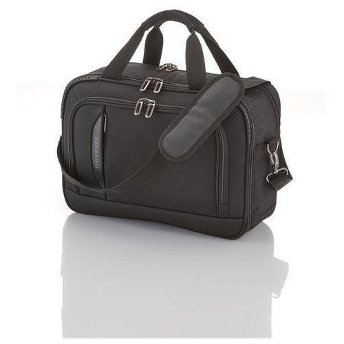 Travelite crosslite torba na ramię z miejscem na laptopa 21l schwarz - czarny