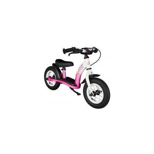 """Rowerek biegowy 10"""" niski od 2 lat germany classic, kolor pink flamingo marki Bikestar"""