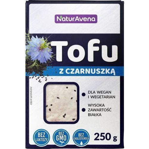 Tofu z czarnuszką kostka 250g - Naturavena