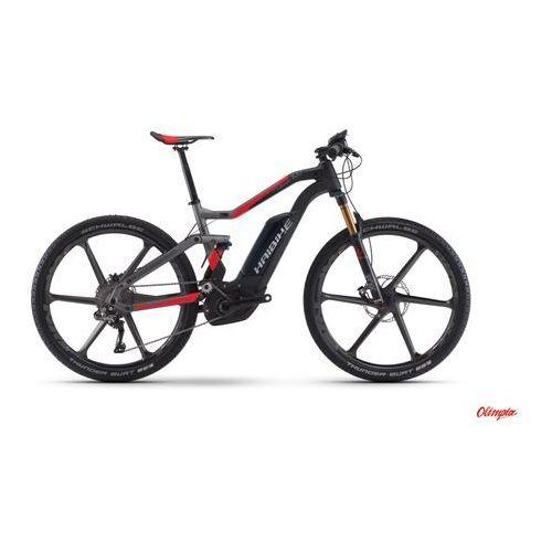 Rower elektryczny  xduro fullseven carbon 10.0 karbon/antracyt/czerwony mat 2017 marki Haibike