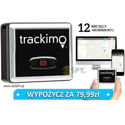 Gospy.pl Lokalizator gps trackimo (rok abonamentu)