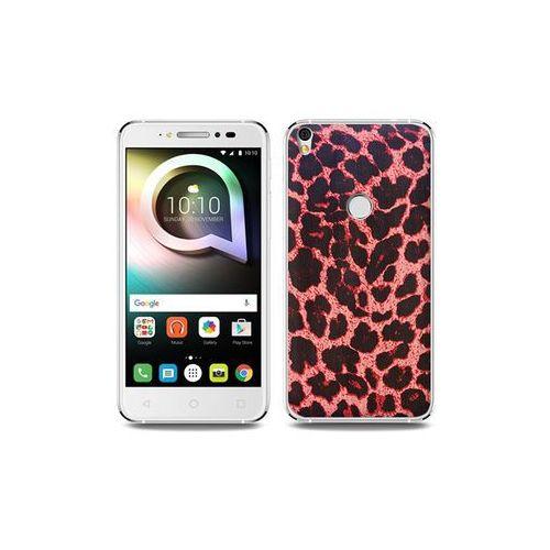 Etuo foto case Alcatel shine lite - etui na telefon foto case - różowa panterka