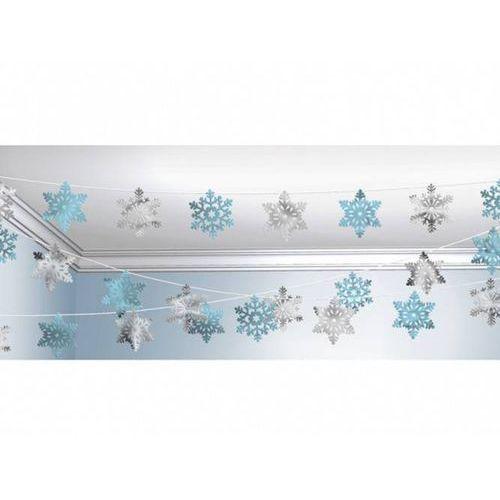 Dekoracja strunowa wisząca Śnieżki (0048419657231)