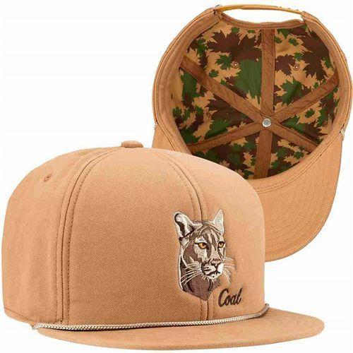czapka z daszkiem COAL - The Wilderness Sp Light Brown (Mountain Lion) (09)