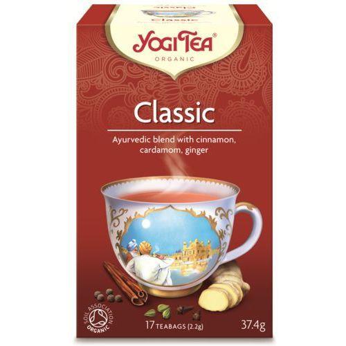 Yogi tea, usa Herbata klasyczna bio (yogi tea) 17 saszetek po 2,2g
