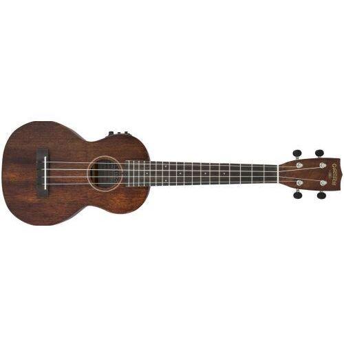Gretsch G9110-L Concert Long-Neck A.E. Ukulele with Gig Bag, Fishman Kula Pickup, Vintage Mahogany Stain ukulele