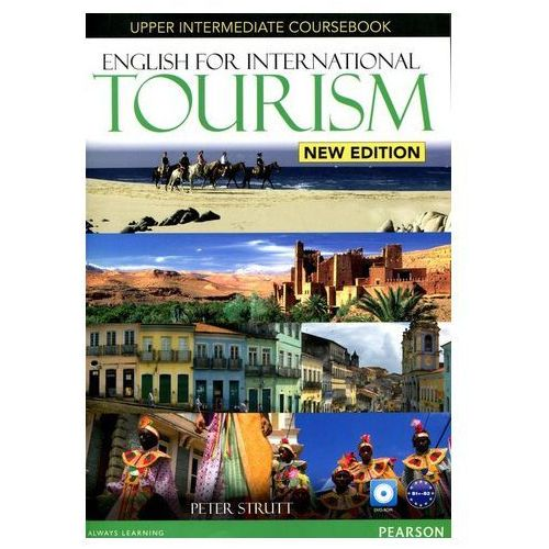 English for International Tourism New Edition Upp-Int SB +DVD Strutt Peter
