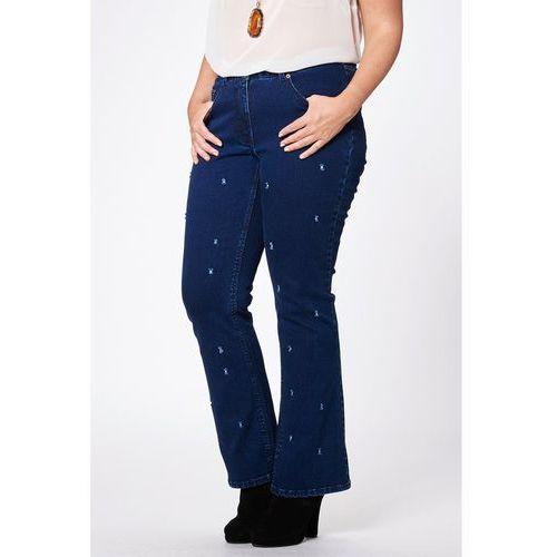 Dżinsy bootcut, spodnie damskie SSTUDIO UNTOLD