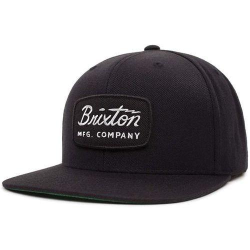 Brixton Czapka z daszkiem - jolt snapback black/black/white (bbwht) rozmiar: os