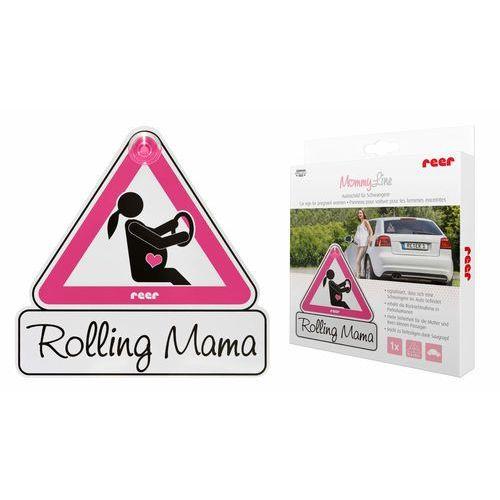 Reer Tabliczka samochodowa kobieta w ciąży w aucie (4013283880142)