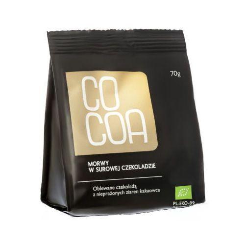70g morwy tureckie w surowej czekoladzie bio marki Cocoa