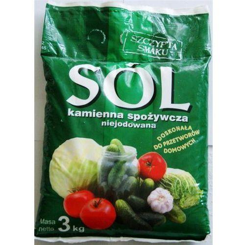 """Kopalnia soli """"kłodawa&quo Sól niejodowana kamienna 3 kg."""