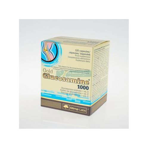 Olimp Gold Glucosamine 1000 kaps. 1 g 120 kaps. (blistry) (kapsułki)