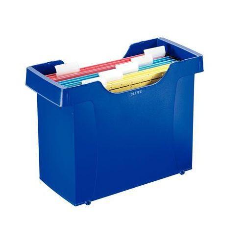 Kartoteka na teczki zaw. Leitz Plus 1993 niebieska