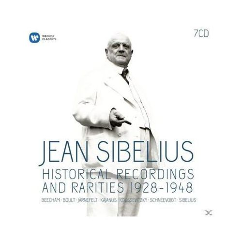 Warner music Sibelius-historical recordings & rarities 28-48