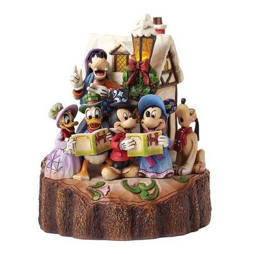 Rodzinne śpiewanie kolęd lampka led holiday harmony (caroling) 4046025 figurka ozdoba świąteczna marki Jim shore