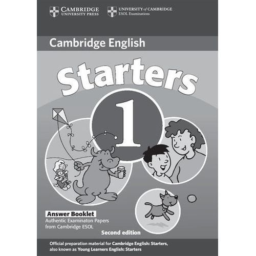 Cambridge Young Learners English Tests Second Edition Starters 1 Answer Booklet (9780521693370)