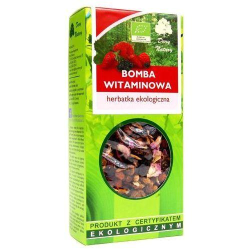 Herbatka bomba witaminowa bio 100 g - dary natury marki Dary natury - herbatki bio