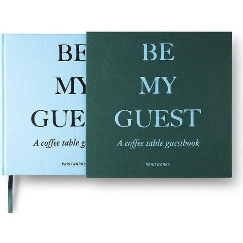 Printworks Księga gości niebiesko-zielona