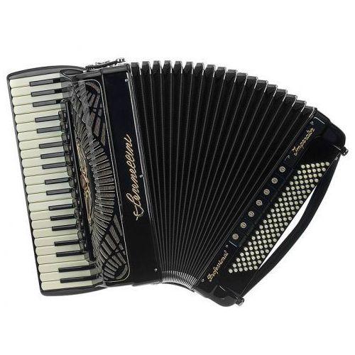 Serenellini Cassotto Balkan (2+2) 41/4/13+M 120/5/7 Piccolo akordeon (czarny)