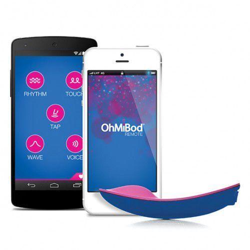 Masażer sterowany aplikacją - bluemotion app controlled massager marki Ohmibod