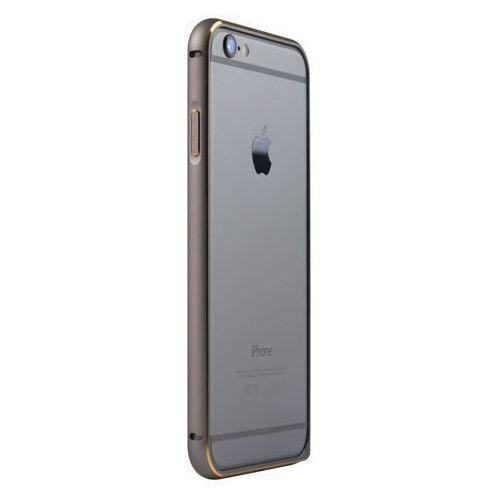 Aluminiowy bumper ramka JCPAL Casense Aluminum Bumper - space grey - iPhone 6 4.7