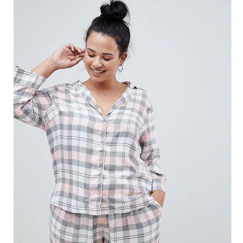 Asos design curve mix & match check shirt - multi marki Asos curve