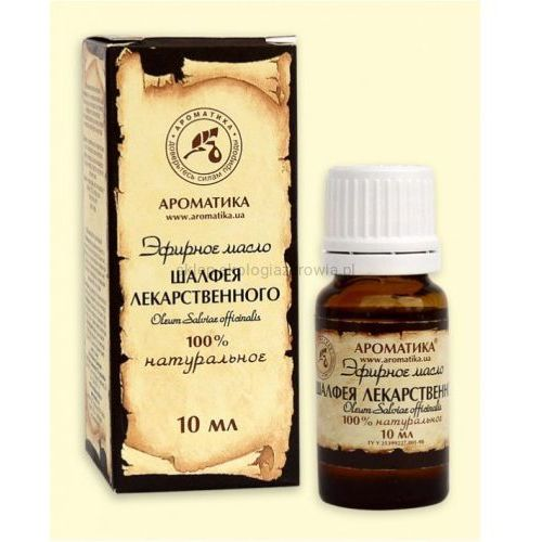 Eteryczny olejek z Szałwii Lekarskiej 10 ml., ARO998