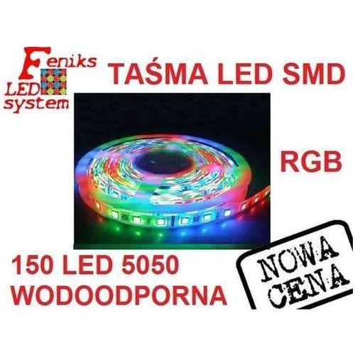Taśma świecąca 150 LED 5050 - RGB - wodoodporna, FLS00122