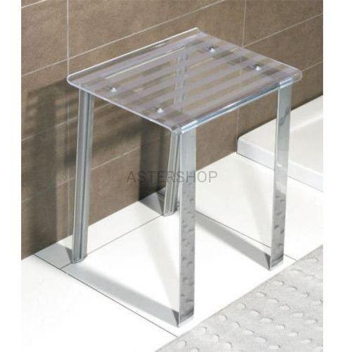 LEO Taboret łazienkowy 40x30x46 cm 5370T