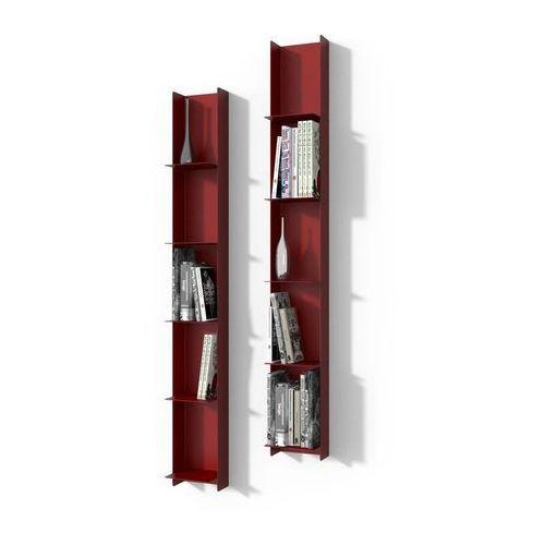 Biblioteczka Libra 1 - czerwony