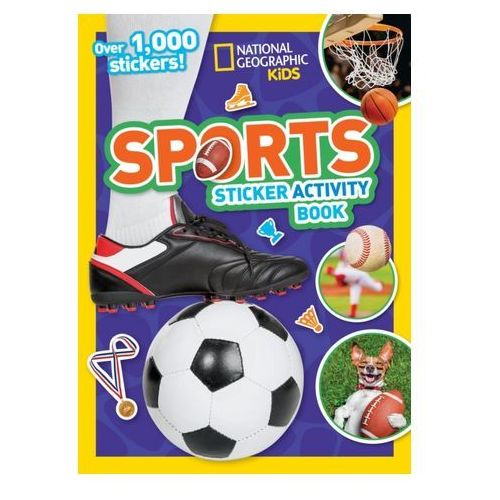 Sports Sticker Activity Book National Geographic (9781426333651)