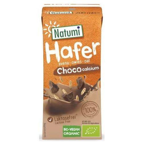 139natumi Napój owsiano - kakaowy z wapniem z alg morskich 200ml eko natumi