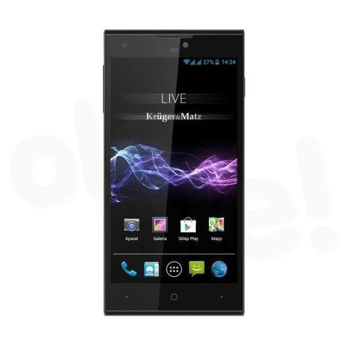 Live 2 marki Kruger & Matz telefon komórkowy