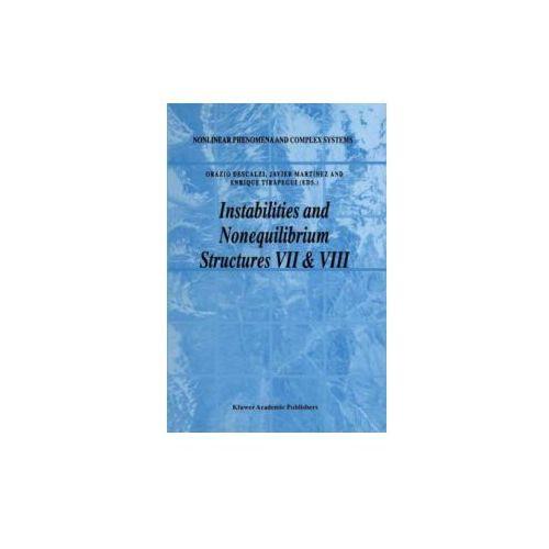 Instabilities and Nonequilibrium Structures VII & VIII, 1