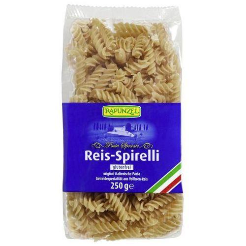 Makaron (ryżowy razowy) świderki bezglutenowy bio 250 g - rapunzel marki Rapunzel (kremy orzechowe, kostki, ketchupy, inne
