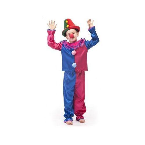 Strój klaun - przebrania / kostiumy dla dzieci - 116 cm marki Aster