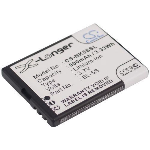 Cameron sino Nokia 2330 classic / bl-5s 900mah 3.33wh li-ion 3.7v ()
