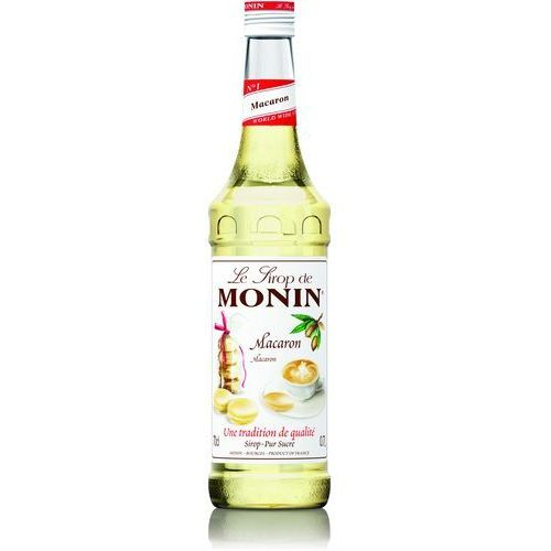 Monin Syrop smakowy macaron, ciasteczka makaroniki 0,7l (3052910041328)