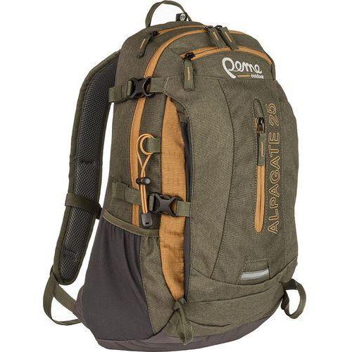 Plecak turystyczny alpagate 25 brązowy marki Peme