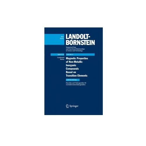 Landolt-Börnstein: Numerical Data and Functional Relationships in Science and Technology - New Series