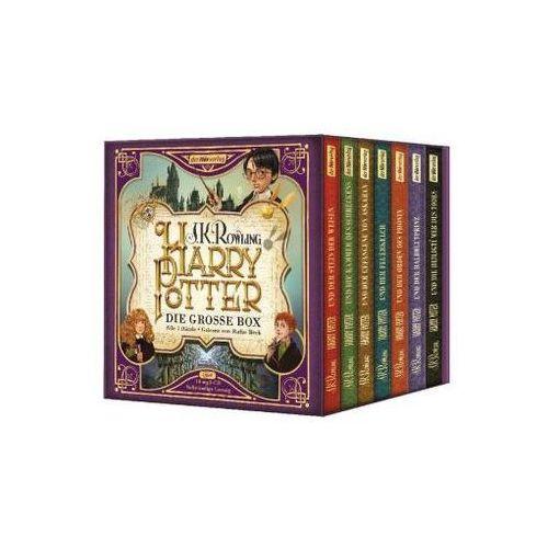 Harry Potter. Die große Box. Alle 7 Bände., 14 MP3-CDs Rowling, J. K. (9783844530537)