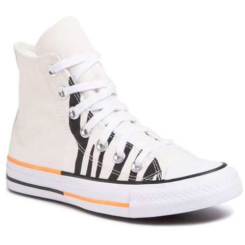 Trampki - ctas hi 167662c egret/total orange/black marki Converse