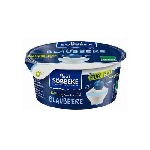 Sobbeke dystrybutor: bio planet s.a., wilkowa wieś 7, 05-084 leszno k. Jogurt kremowy jagodowy (3,8% tłuszczu w mleku) bio 150 g - sobbeke