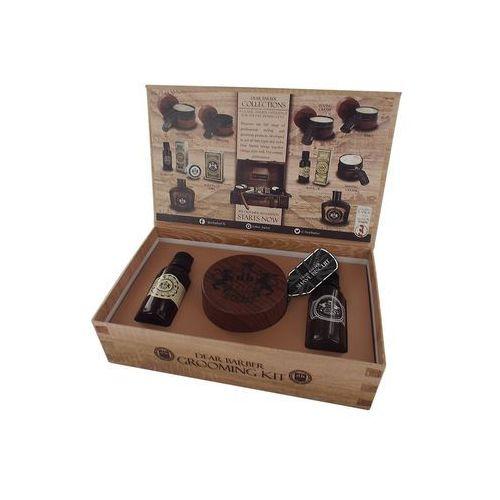 Dear barber shave care kit | zestaw do golenia: olejek + krem do golenia + woda toaletowa